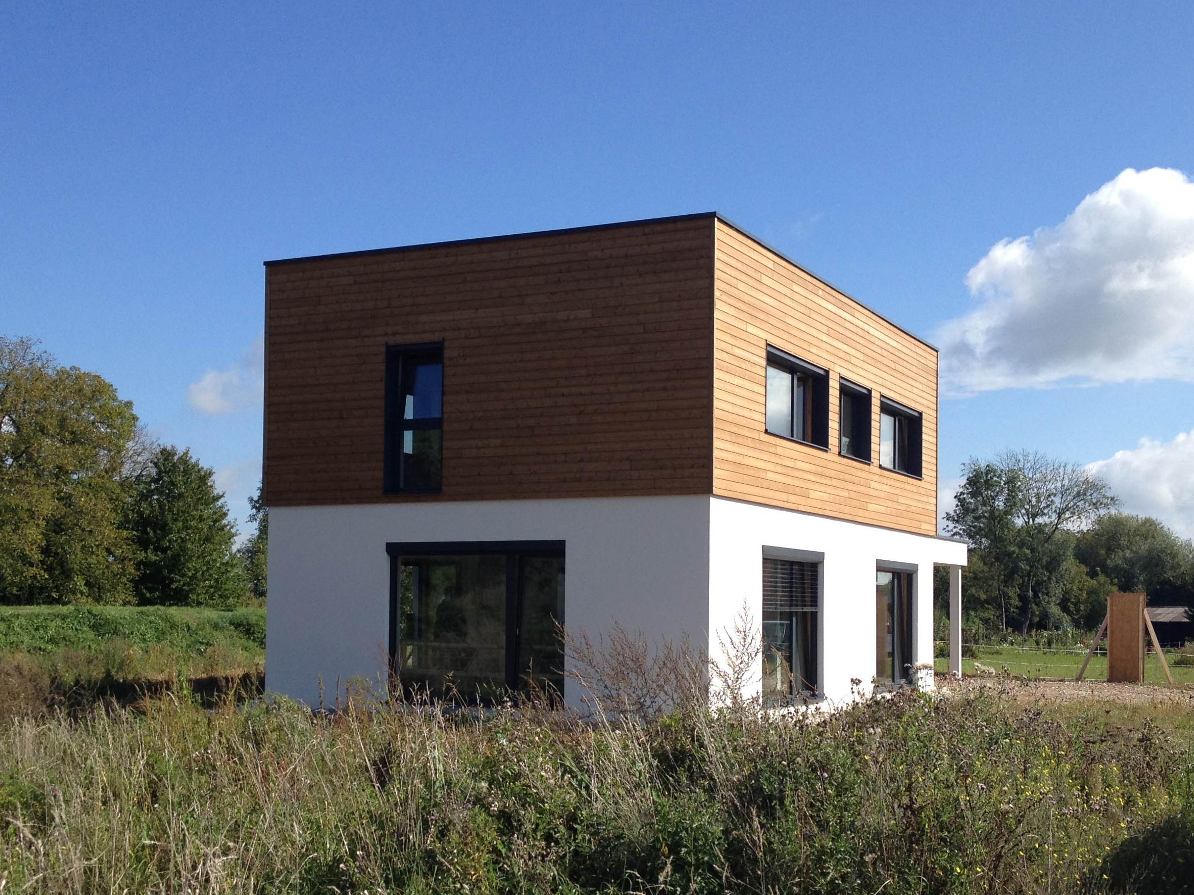 la maison S, une maison passive de B.Conception et de Maisons Voegelé