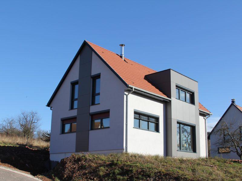 Maison Elio, une maison passive de B.Conception et de Maisons Voegelé
