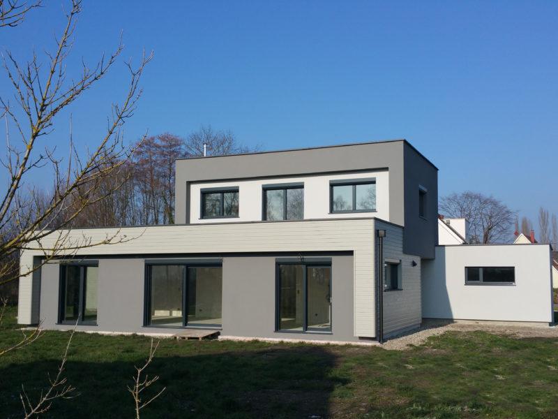 la maison O, une maison passive de B.Conception et de Maisons Voegelé