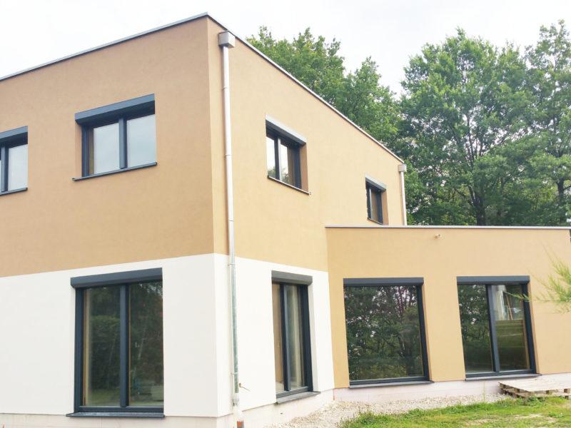 la maison M, une maison passive de B.Conception et de Maisons Voegelé