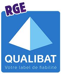 Le logo de Qualibat RGE