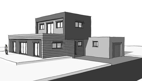Concept pour un projet de maison passive