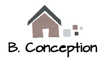 le logo de B.Conception pour les maisons passives