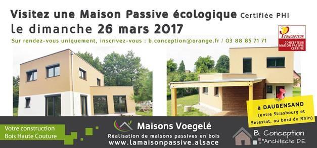 portes ouvertes le 26 mars 2017 la maison passive alsace maisons passives bois en alsace. Black Bedroom Furniture Sets. Home Design Ideas