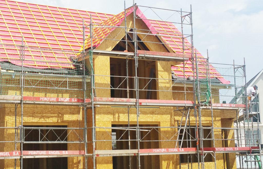 nouveau chantier haute performance la maison passive alsace maisons passives bois en alsace. Black Bedroom Furniture Sets. Home Design Ideas