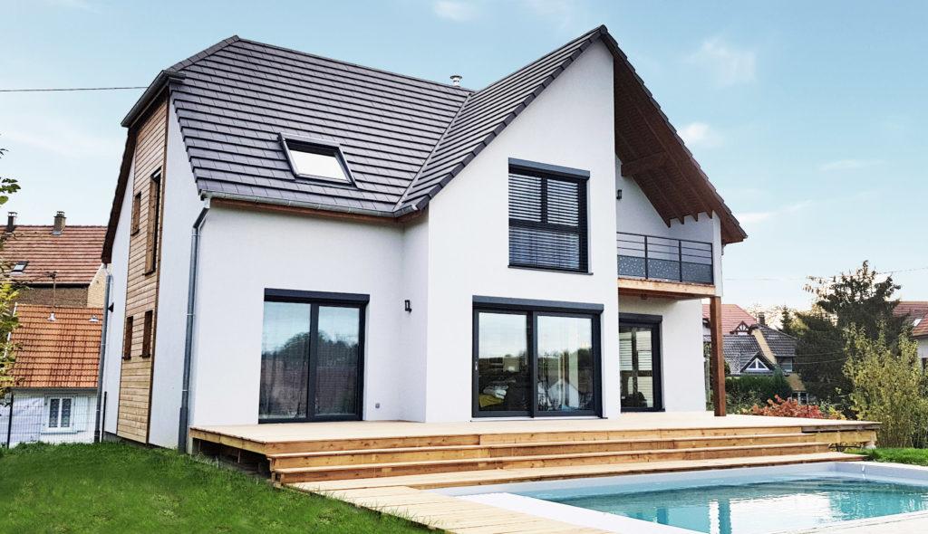 maison passive eckwersheim la maison passive alsace maisons passives bois en alsace. Black Bedroom Furniture Sets. Home Design Ideas
