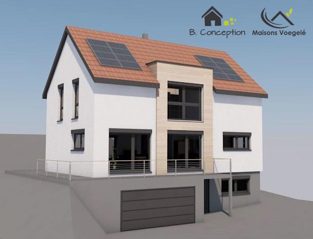 nouveau projet de maison positive cologique la maison passive alsace maisons passives bois. Black Bedroom Furniture Sets. Home Design Ideas